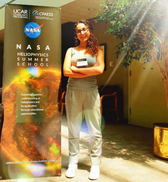 Ευαγγελία Σαμαρά NASAsummer School