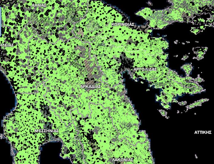 δασικούς χάρτες