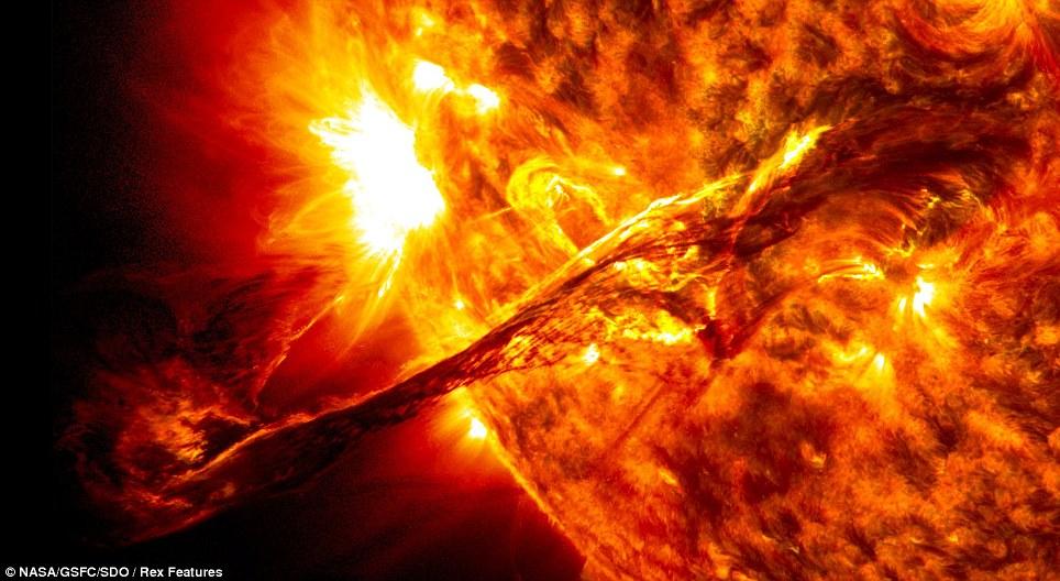 ηλιακής έκλαμψης